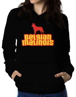 Breed Color Belgian Malinois Women Hoodie