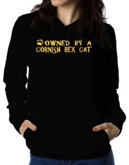 Owned By A Cornish Rex Women Hoodie