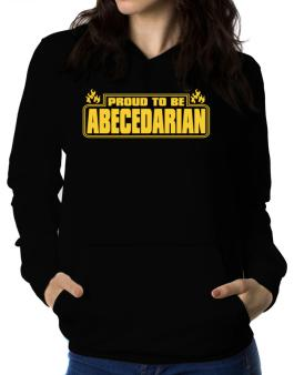 Proud To Be Abecedarian Women Hoodie