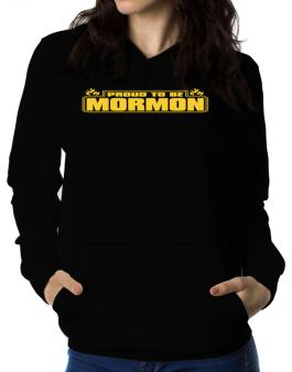 Proud To Be Mormon Women Hoodie