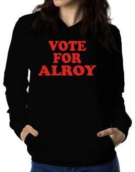 Vote For Alroy Women Hoodie