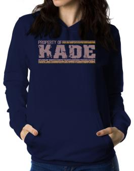 Property Of Kade - Vintage Women Hoodie
