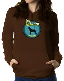 Dog Addiction : Beagle Women Hoodie