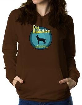 Dog Addiction : Peruvian Hairless Dog Women Hoodie
