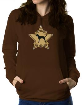 Official English Foxhound Walker Women Hoodie