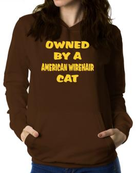 Owned By S American Wirehair Women Hoodie