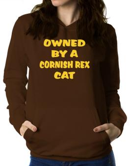 Owned By S Cornish Rex Women Hoodie