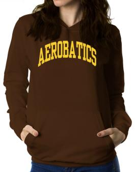 Aerobatics Athletic Dept Women Hoodie