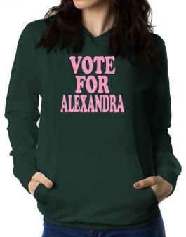 Vote For Alexandra Women Hoodie