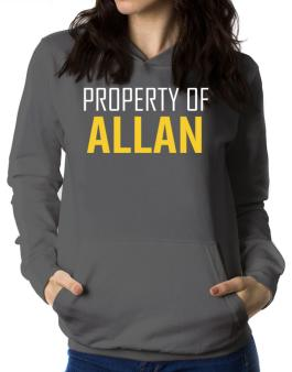 Property Of Allan Women Hoodie