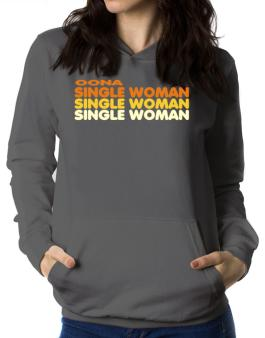 Oona Single Woman Women Hoodie