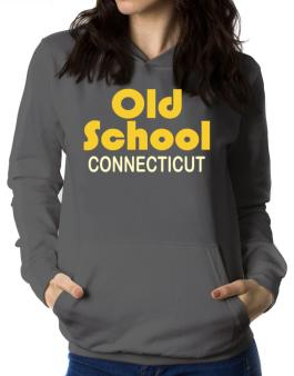Old School Connecticut Women Hoodie