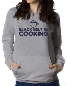 Black Belt In Cooking Women Hoodie