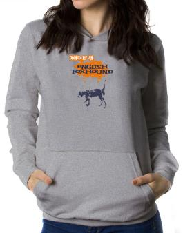 Owned By An English Foxhound Women Hoodie