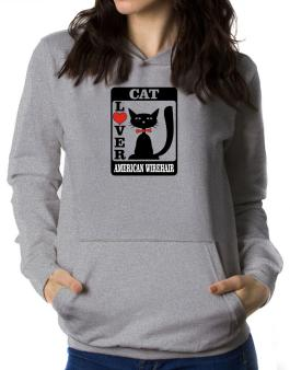 Cat Lover - American Wirehair Women Hoodie