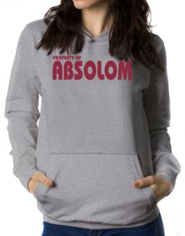 Property Of Absolom Women Hoodie
