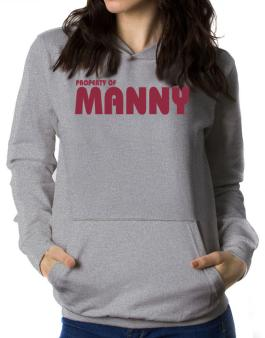Property Of Manny Women Hoodie
