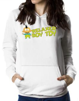 Relaxed Boy Toy Women Hoodie