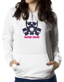Polera Con Capucha de Nurse Zone - Gas Mask