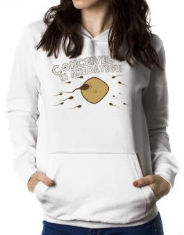 Conceived In Anzoategui Women Hoodie