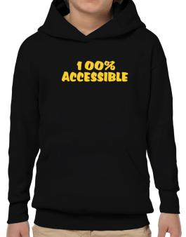 100% Accessible Hoodie-Boys