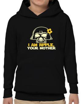 I Am Apple, Your Mother Hoodie-Boys