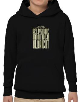 Help Me To Make Another Albright Hoodie-Boys