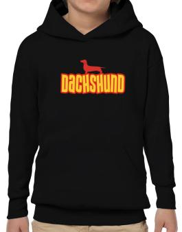 Breed Color Dachshund Hoodie-Boys