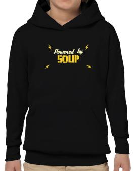 Powered By Soup Hoodie-Boys