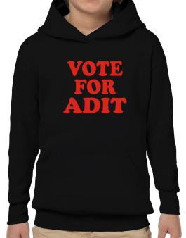 Vote For Adit Hoodie-Boys