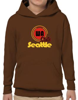 Seattle - State Hoodie-Boys