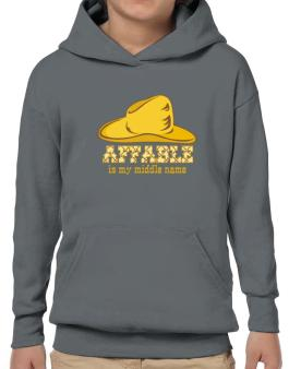 Affable Is My Middle Name Hoodie-Boys