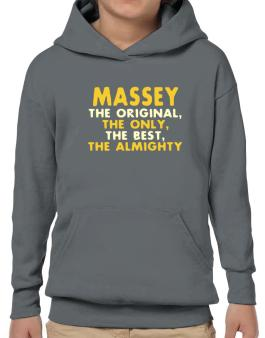 Massey The Original Hoodie-Boys