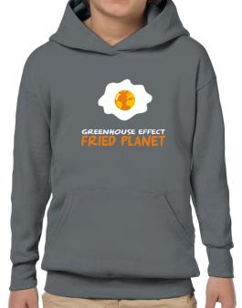 Greenhouse Effect - Fried Planet Hoodie-Boys