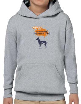 Owned By A Peruvian Hairless Dog Hoodie-Boys
