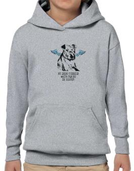 My Irish Terrier Waits For Me In Heaven Hoodie-Boys