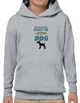 Dyslexics Pray To Dog Hoodie-Boys