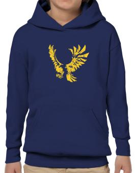 Eagle With Open Wings Hoodie-Boys