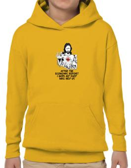 After The Economic Report I Hope My Daddy Will Help Us - Jesus Hoodie-Boys