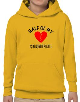 """"""" The other half of my heart is in North Platte """" Hoodie-Boys"""