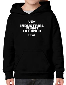Usa Industrial Plant Cleaner Usa Hoodie-Girls