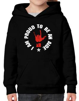 I Am Proud To Be An Aide Hoodie-Girls