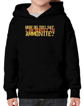 How Do You Say I Am Horny In Japanese ? Hoodie-Girls