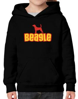 Breed Color Beagle Hoodie-Girls