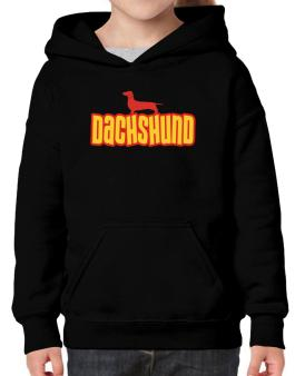 Breed Color Dachshund Hoodie-Girls