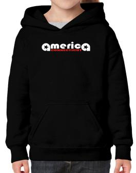 A-merica Connecticut Hoodie-Girls