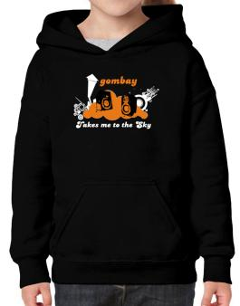 Gombay Takes Me To The Sky Hoodie-Girls