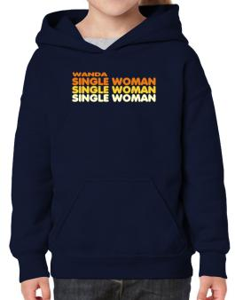 Wanda Single Woman Hoodie-Girls
