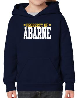 Property Of Abarne Hoodie-Girls