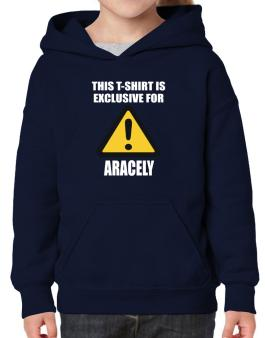 This T-shirt Is Exclusive For Aracely Hoodie-Girls